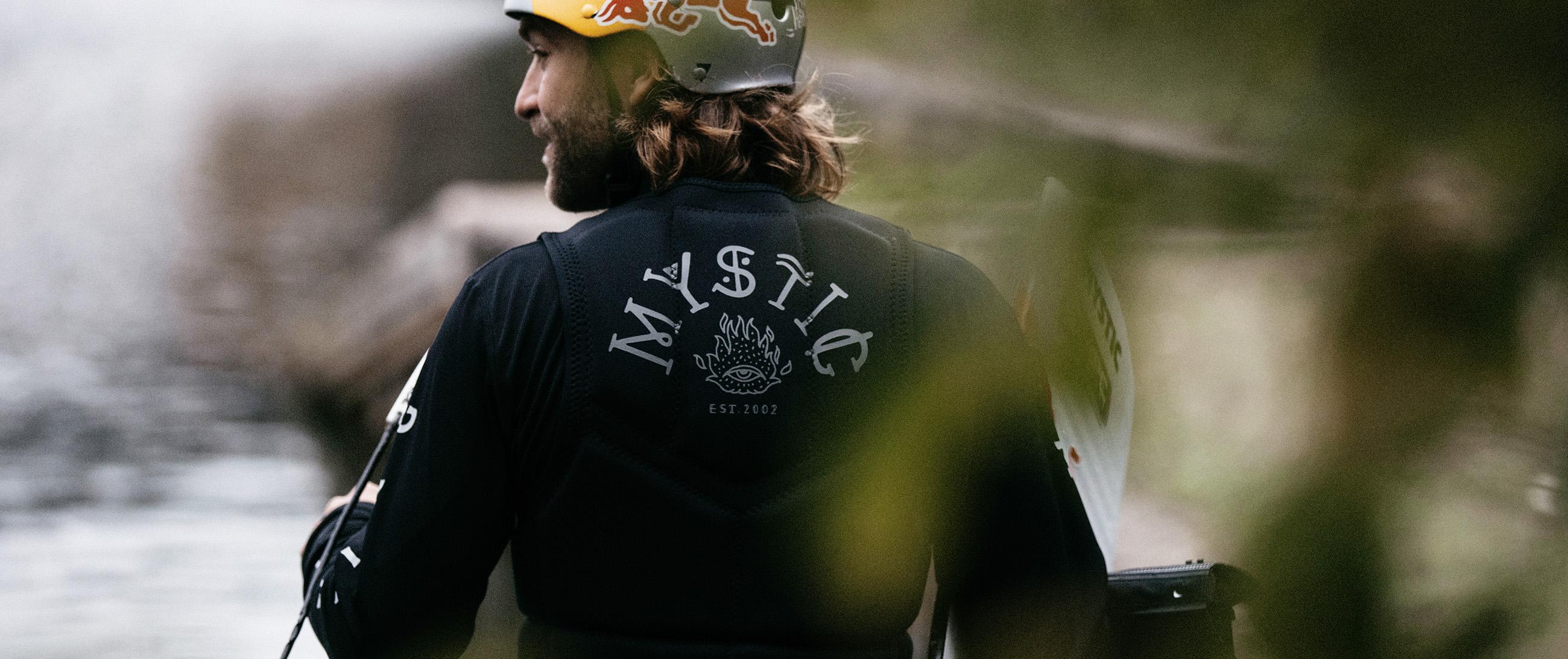 NEU MYSTIC The Dom Impact Vest;Dominik Hernler Signature Model jetzt verfügbar