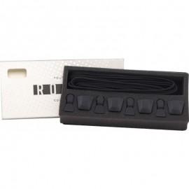 Ronix AutoLock Kit - Black     (Set 4 Laces and AutoLocks)